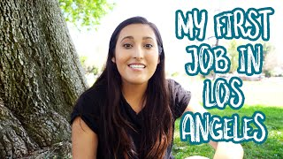 How I Got My First Job in TV