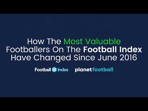 How The Most Valuable Players On The Football Index Have Changed Since 2016