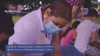 TV MUNICIPIOS – LAS FAMILIAS DE MARIQUITA – TOLIMA DISFRUTARON DE UNA JORNADA DE DIVERSIÓN
