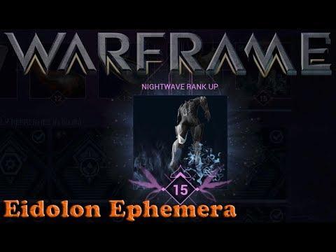 Warframe - Eidolon Ephemera