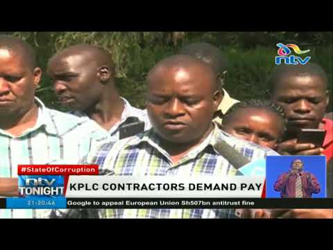KPLC contractors demand pay, say they provided services