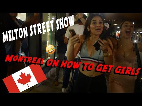Montreal on how to pick up girls