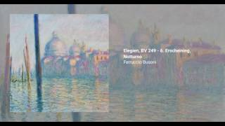 Elegien, BV 249