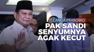 Canda Prabowo Kenang Biaya Pilpres 2019: Pak Sandi Senyumnya Agak Kecut Gitu