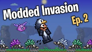 30x SPAWN RATE!!! // Terraria Mass Modded Invasion - Episode 2