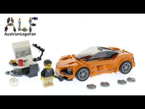 Vidéo LEGO Speed Champions 75880 : McLaren 720S