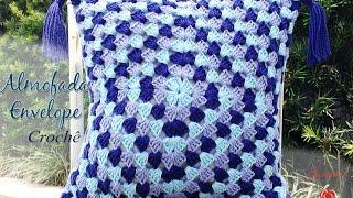 Almofada De Crochê Envelope - Professora Simone Eleotério