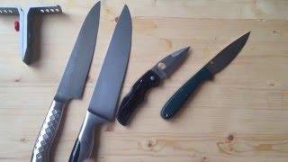Заточные мифы и легенды. Часть 1. Угол заточки ножа.