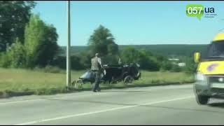 Разбитая вдребезги иномарка, погибший водитель: ДТП на окружной