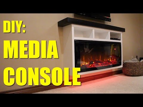 Download How To Build A Electric Fireplace Media Console Mp4 HD Video and MP3
