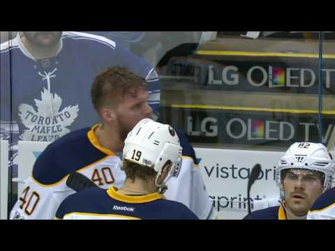 Gotta See It: Lehner waves at fan, gets pulled, stares down Bylsma