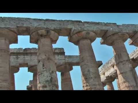 Paestum (Italy) has three ancient Greek temples which are in a very good state of preservation
