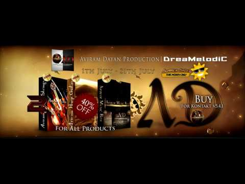 Aviram Dayan Production | DreaMelodiC 40% off - *Summer Sale* - Special Prices! Until July 31th