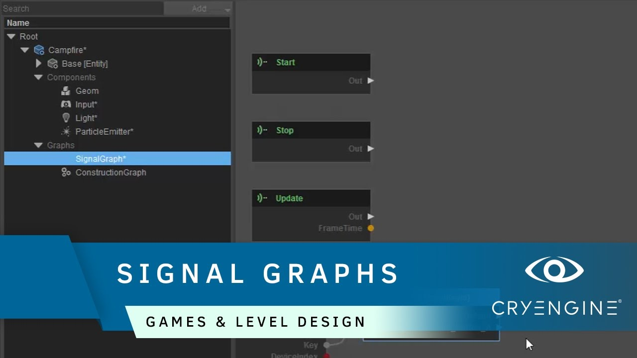How to use signal graphs in Schematyc | Game & Level Design