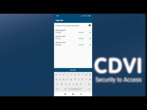 Clavier codé Digicode Bluetooth Rétro-éclairé 3 relais déporté 100 codes 12/24V