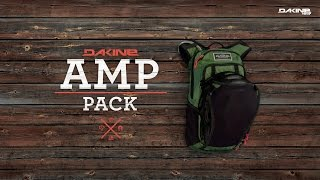 Dakine Amp 18L / red rock/blaze - відео 1