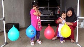 Surprise Mainan Jadul Jaman Ibu Dalam Balon Karakter Finger Family Song