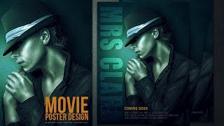 Photoshop Tutorial   Cyan Texture And Sharp Details For Movie Poster