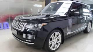Mục sở thị Range Rover Autobiography LWB, mâm Black Edition cũ bán lại giá 7,3 tỷ đồng