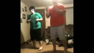 Fat people dancing crazy in love