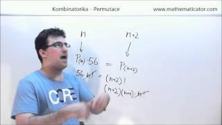 Kombinatorika - Permutace 3.10.2014