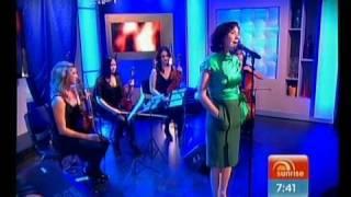 Tina Arena sings 'Wasn't It Good' on Sunrise