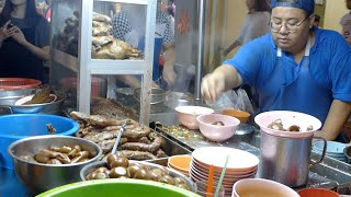 槟城乔治市汕头街四大天王之一 权记鸭粥粿汁专卖店