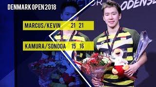 Ganda Putra Marcus Gideon dan Kevin Sanjaya Jadi Raja Denmark Open 2018