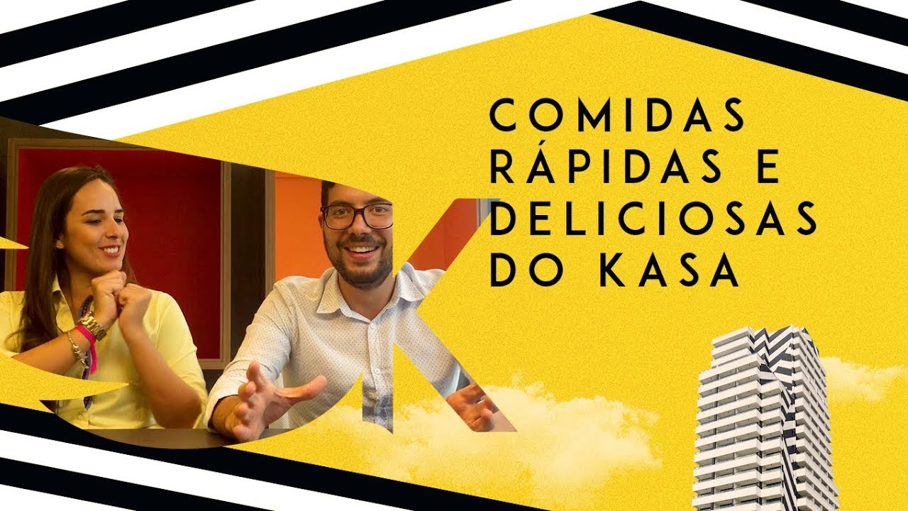 Receitas rápidas e saborosas – Manual do KASA Coliving