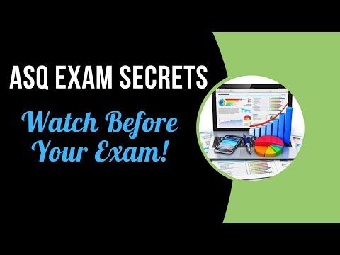 ASQ Six Sigma Black Belt Exam (Question Categories) - YouTube
