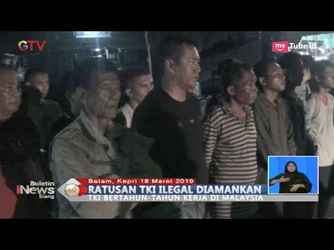 Polresta Balerang Amankan Ratusan TKI Ilegal di Batam, Kepulauan Riau - BIS 19/03