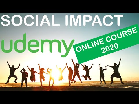Social Impact - Monitoring and Evaluation Online Udemy Course ...