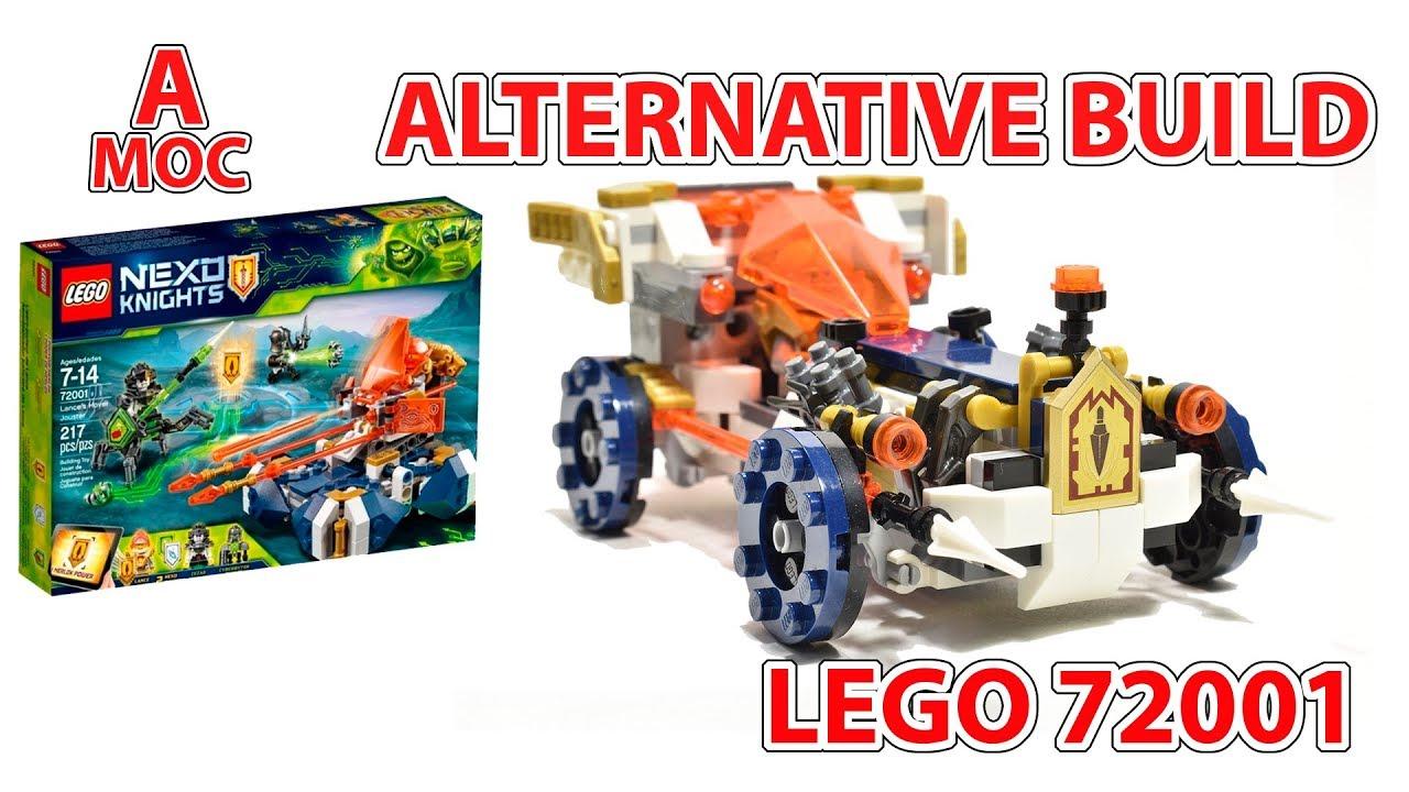 LEGO 72001 Lance's HOT ROD alternative build [A MOC]
