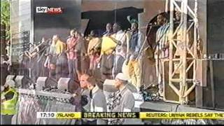 Birmingham Riot 2011: Day 6 (Recap) - Sky coverage