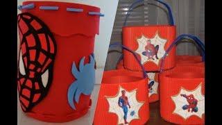 Recuerdos Y Decoraciones De Spiderman Para Fiestas Infantiles.