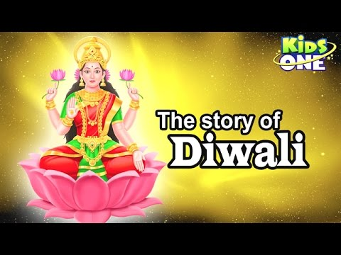 The Story of Diwali | Festival of Lights Cartoon Animation