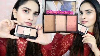 Makeup Revolution Ultra Sclupt & Contour Kit || Review + Swatches
