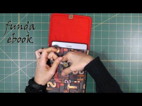 Cómo hacer una funda de EBOOK con bolsillo