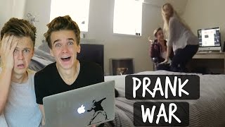 REACTING TO THE PRANK WAR!