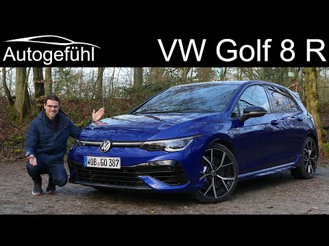 All-new VW Golf 8 R FULL REVIEW - the ultimate 2021 Golf with 320 hp and torque vectoring