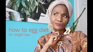 How To Egg Diet For Weight Loss