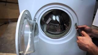 как снять УБЛ стиральной машины Beko. Видео №37