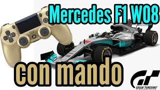 Gran Turismo Sport - Me lo habíais pedido: conduciendo el Mercedes F1 con mando