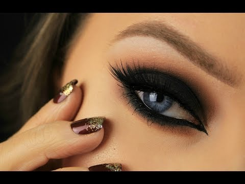 Black Cat Eye Smokey Eye | Drugstore Products | Eimear McElheron