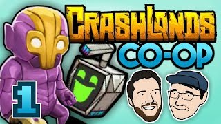 ASSESS THE SITUATION | Let's Play Crashlands (Co-op) - PART 1 | 2 Left Thumbs | Update Gameplay
