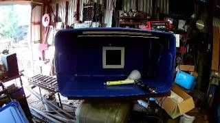 My homemade powder coating booth