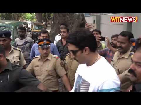 Abhishek Bachchan, Aishwarya Rai & Jaya Bachchan Cast  Vote In Mumbai