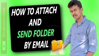 How To Attach And Send A Folder By Email