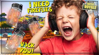 """TROLLING ANGRY KID WITH *NEW* """"FIREFLY JAR"""" IN FORTNITE! (Funny Fortnite Trolling)"""