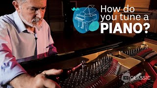 How do you tune a piano?